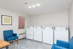 Laundry service is available 24/7 for guests convenience