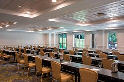 The Lodge Event Venue Retreat - Classroom Setup
