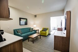 Holiday Inn & Suites Calgary South Executive One Bedroom Suite.