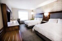 Make yourself at home in our guest rooms.