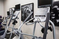 Work up a sweat in the Fitness Center.
