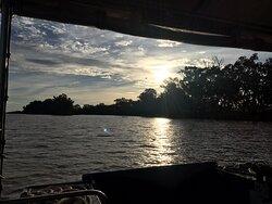 Enjoyable sunset cruise with Brett