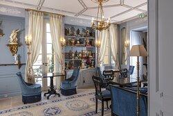 Salon de thé Villa Saint Ange Aix en Provence