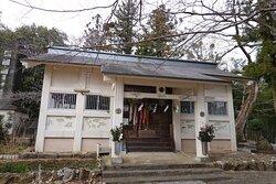 いの町・琴平神社 拝殿