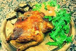 Galletto Ruspante con Verdure e Patate al Forno