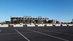 Anaheim Stadium from the west side