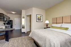 Candlewood Suites Cutoff Louisiana Queen Studio Suite