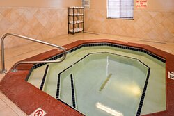 Go for a dip and relax in our 24-hour indoor whirlpool