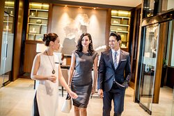 The largest Club InterContinental Lounge in South East Asia
