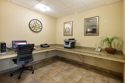 Business Center located in Open Lobby. Free Wi-Fi throughout hotel