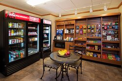24-Hour Candlewood Cupboard. Guests may charge purchases to suite.