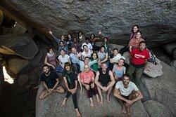 Cave retreat