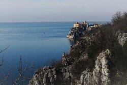 Panorama dal sentiero Rilke Trieste