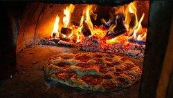 Sábado noite da pizza!