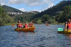 Penacova onde a Natureza vive e se desce o rio Mondego em kayak