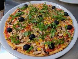 Pizza para vegetarianos !