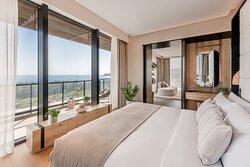 Sky Villa-Bedroom 天际海景复式别墅卧室