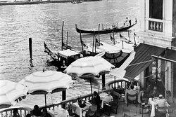 Garden of the Hotel Europa & Britannia, Venice, 1939
