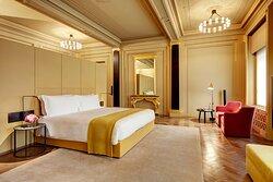 Hotel Cafe Royal Royal Suite Master Bedroom