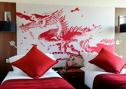 Asian style Superior twin-bedded room