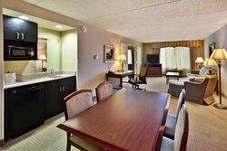 King Boardroom Suite Dining Room