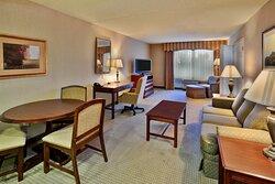 King Leisure Suite Living Room