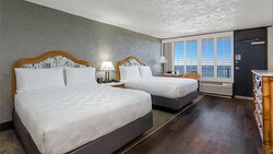 Spacious Guest Room Featuring 2 Queen Beds