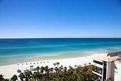 Beautiful Gulf Front Views from Upper Level Balcony