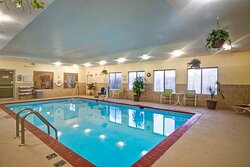Relax in our indoor pool.