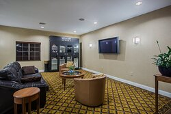 Hotel Lobby and Lending Locker