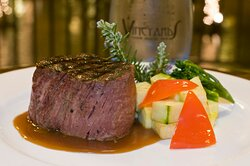Indulge with delectable steak entrée