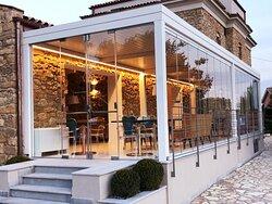 """Zàghara Restaurant - Villa Flora Relais """"Pergola"""""""