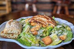 Grouper Ceasar Salad