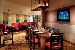 Champions dining area