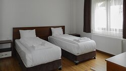 iki ayrı yataklı banyolu yatak odası 25 m2