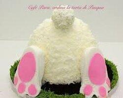 Torta Pasqua in consegna a domicilio Arezzo il #ConiglioPasquale e. 40.00 14 porzioni
