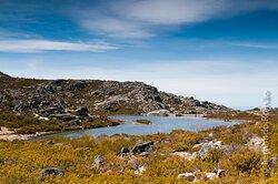 Lake at Estrela Mountain Natural Park