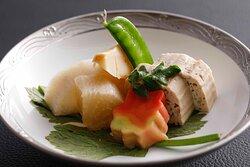 田舎の煮物 Steamed vegetables