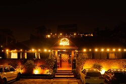 Our restaurant entrance and overall ambiance is well  designed to make our guests happy