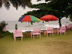 Les chaises de plage sont disponibles à tout moment