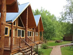Our cabin at Farm Lodge