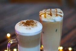 Bebidas calientes estilo cafeto bar