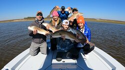 Fishing with Off The Hook Charters!