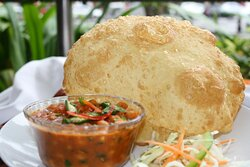 Bhatura meal @ Lunch Specials