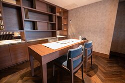 The Residence Suite features an office with a large working desk