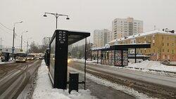 Привокзальная площадь. Остановка автобусных маршруток до заповедника в местечке Данки