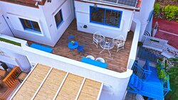 balcony studio with panoramic sea view apartment with sea view