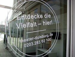 Teilansicht vom Duisburger Theater... Kassen-Bereich... Februar 2021