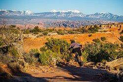 Mag-7 Trail System- Bull Run - Moab Utah- Hazard County Shuttles
