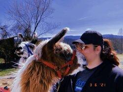 The sweetest Rivendell giving kisses
